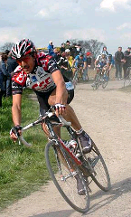 Cancellara push it to the limit. Winning Paris Roubais could never happen without using Cycling Interval in his Training Plan
