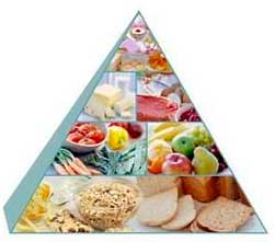 When you train hard and more I recommend that you gradually reverse the recommended food pyramid upside down!
