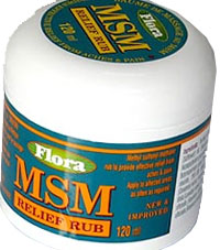 MSM cream can be good to message onto your tired legs after hard training and competition. The cream penetrates the cells and softens the muscle. MSM also helps to restore and strengthen the cells
